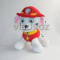 Мягкая игрушка щенок Маршал из мультфильма Щенячий патруль 20см.