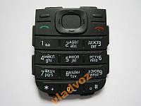 Клавиатура русская для Nokia 1200, 1208 чёрная