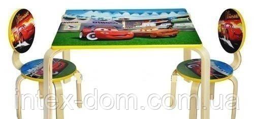 Набор детской мебели J002-294 (детский столик и стульчики), дерево. КИЕВ
