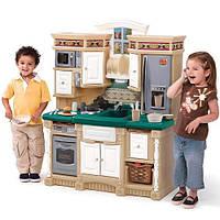 Игровая детская кухня Life Style Dream - Step 2 - США - плита, микроволновка и телефон воспроизводят реалистич