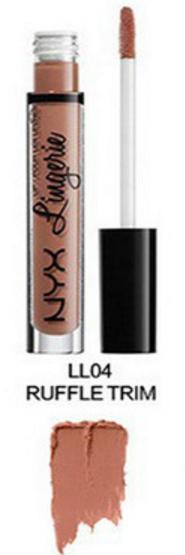 Матовая жидкая помада для губ NYX Lingerie (04 RAFFLETRIM)
