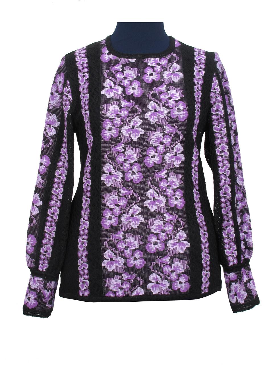Женская рубашка вязаная 0320