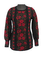 Женская рубашка вязаная 0324