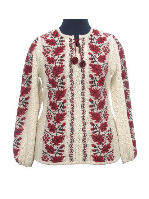 Женская рубашка вязаная 0328