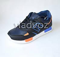 Кроссовки для мальчика синяя модель 35р.