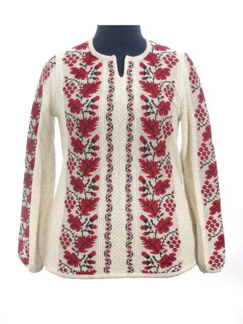Женская рубашка вязаная 0329
