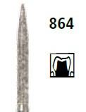Бор алмазный пламевидный удлиненный Oko Dent (Германия) NaviStom