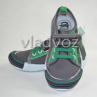 Мокасины тапочки для мальчика Super Gear 30р. зелёные