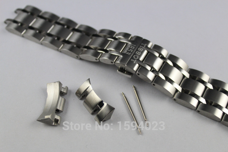 Браслет для Tissot Couturier T035 нержавеющая сталь 22 мм