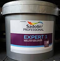 Краска белоснежная потолочная Expert 1 Sadolin, 10л