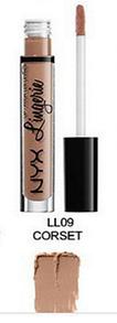 Матовая жидкая помада для губ NYX Lingerie (09 CORSET)