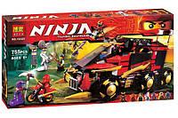 "Конструктор ниндзяго Ninja ""Мобильная база ниндзя"" (аналог LEGO Ninjago 70750) 755 деталей , фото 1"