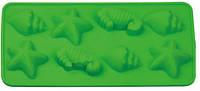"""Силиконовая форма для конфет, льда, мармелада """"Морское ассорти"""", 8 шт на планшете"""