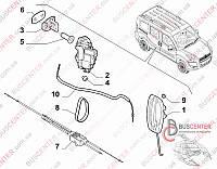Трос замка двери боковой раздвижной левой Fiat Doblo (2009-……) 51892698