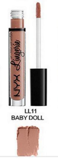 Матовая жидкая помада для губ NYX Lingerie (11 BABY DOLL)