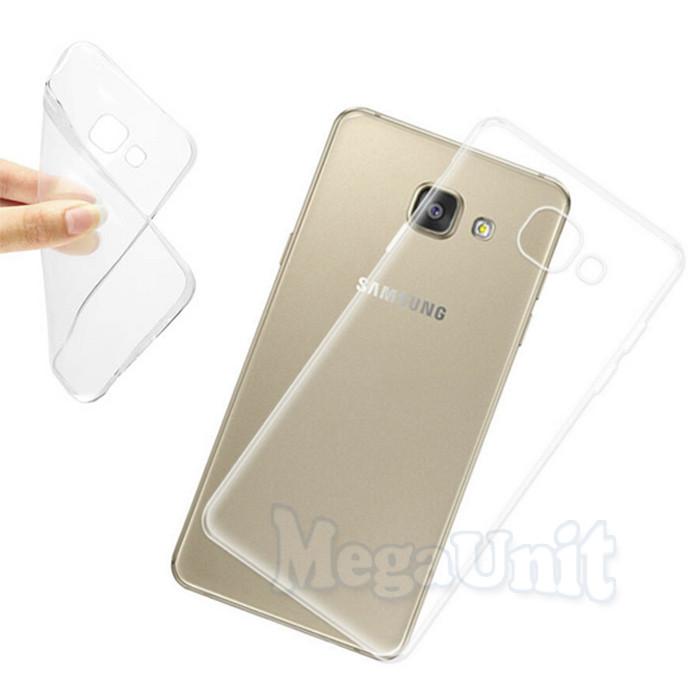 Прозрачный силиконовый чехол для Samsung Galaxy A3-2017 (a320)
