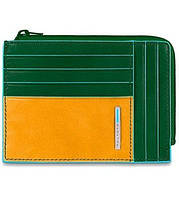 BL SQUARE/Green-Yellow PU1243B2_VG кредитница