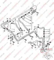 Регулятор давления топлива (гаситель пульсаций топлива) Volkswagen Crafter (2006-……) 2E0201416