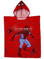 """Пончо пляжное (детское) """"Spidermen-1"""" Piramit"""