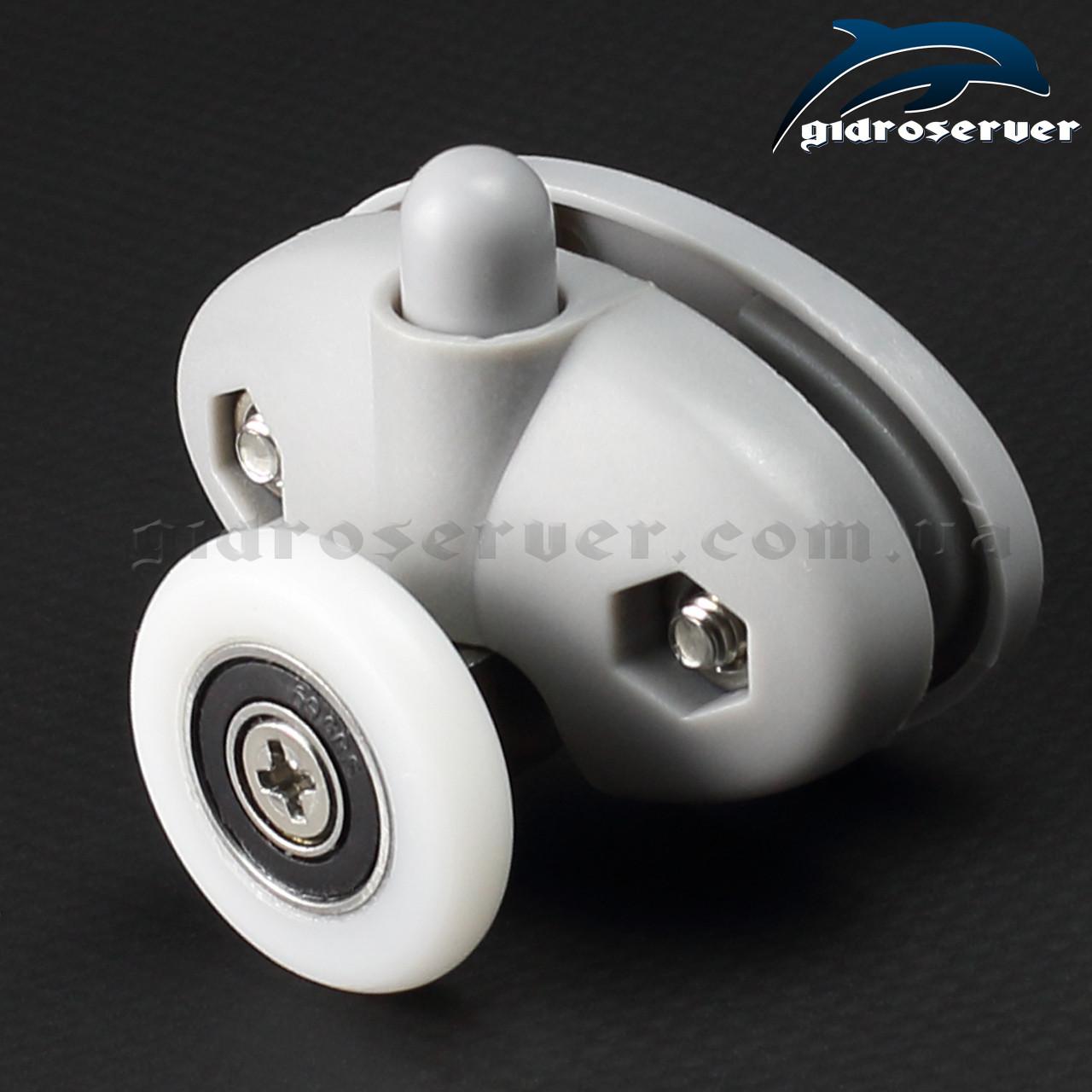 Ролики для душевой кабины R-39A с размерами колес от 19 до 27 мм.