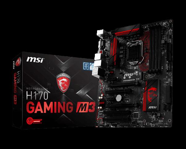 Материнская плата MSI H170 Gaming M3