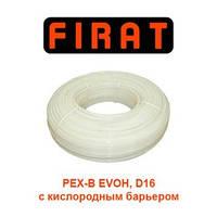 Труба для теплого пола FIRAT PEX-B EVOH 16х2.0 (с кислородным барьером) Турция., фото 1