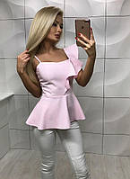 "Стильная молодежная блузка "" Рюш "" Dress Code"