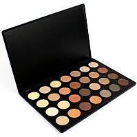 Палитра теней для век 28 оттенков Beauties Factory Eyeshadow Palette NATURAL NUDE, фото 1