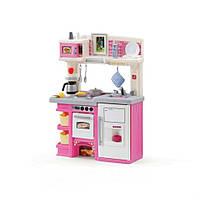 Игровая детская кухня «Маленький кулинар» - Step 2 - США - имеет  счетчик с двумя горелками