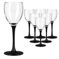 Domino-J0042-набор бокалов-190г-6шт-бел.вино