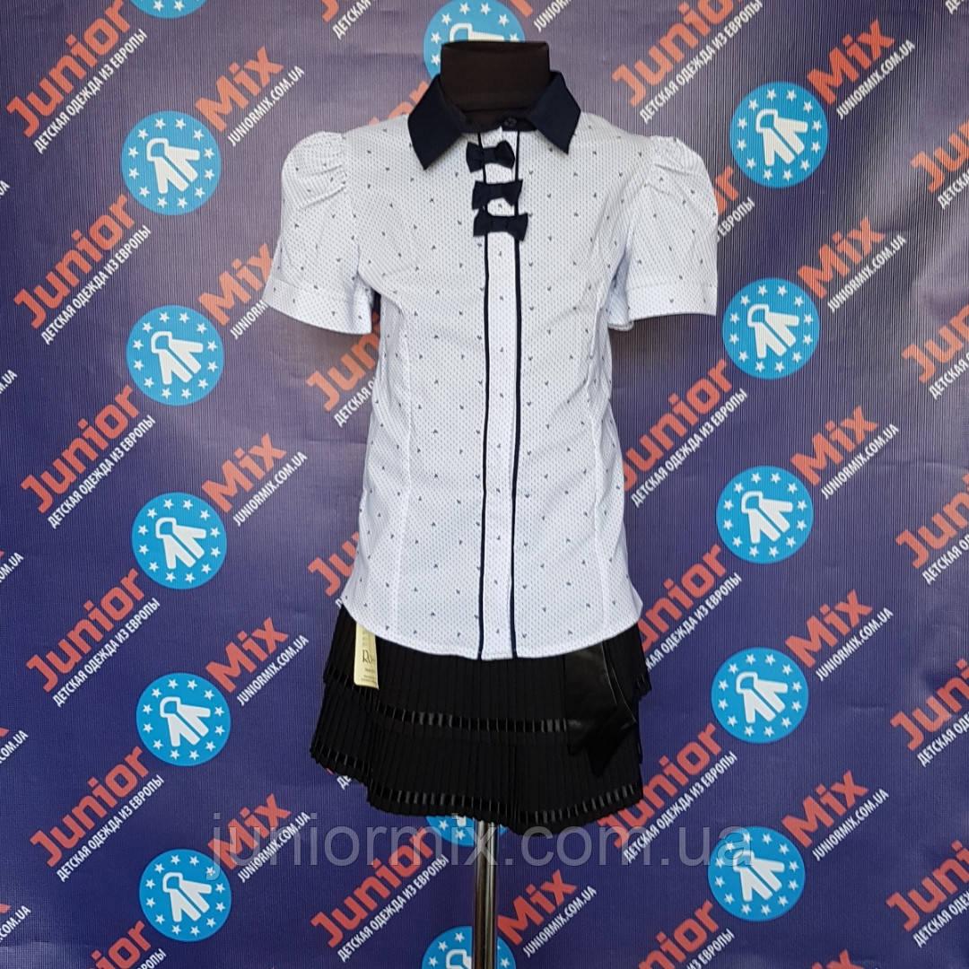 Школьная детская нарядная блузка для девочки  UMBO