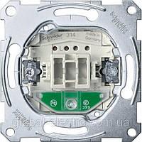 Механизм 1-клав. перемик. 1-пол. з индик. MTN3106-0000