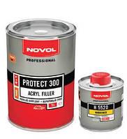 Грунт акриловый Novol PROTECT 300 1л + отвердитель 5520 0,25л