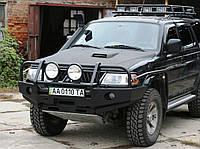 Передний силовой бампер Mitsubishi Pajero Sport, фото 1