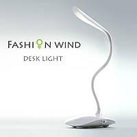 Настольная декоративная лампа с аккумулятором от USB KSB 188 B, сенсорный светильник, настольная лампа