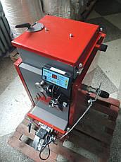 Твердотопливный универсальный котёл длительного горения Energy Wood 20 квт, отапливаемая площадь до 200 м2 , фото 3