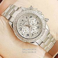 Часы Rolex Daytona Women Crystal Silver
