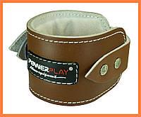 Кожаные манжеты для тяги (2 шт)