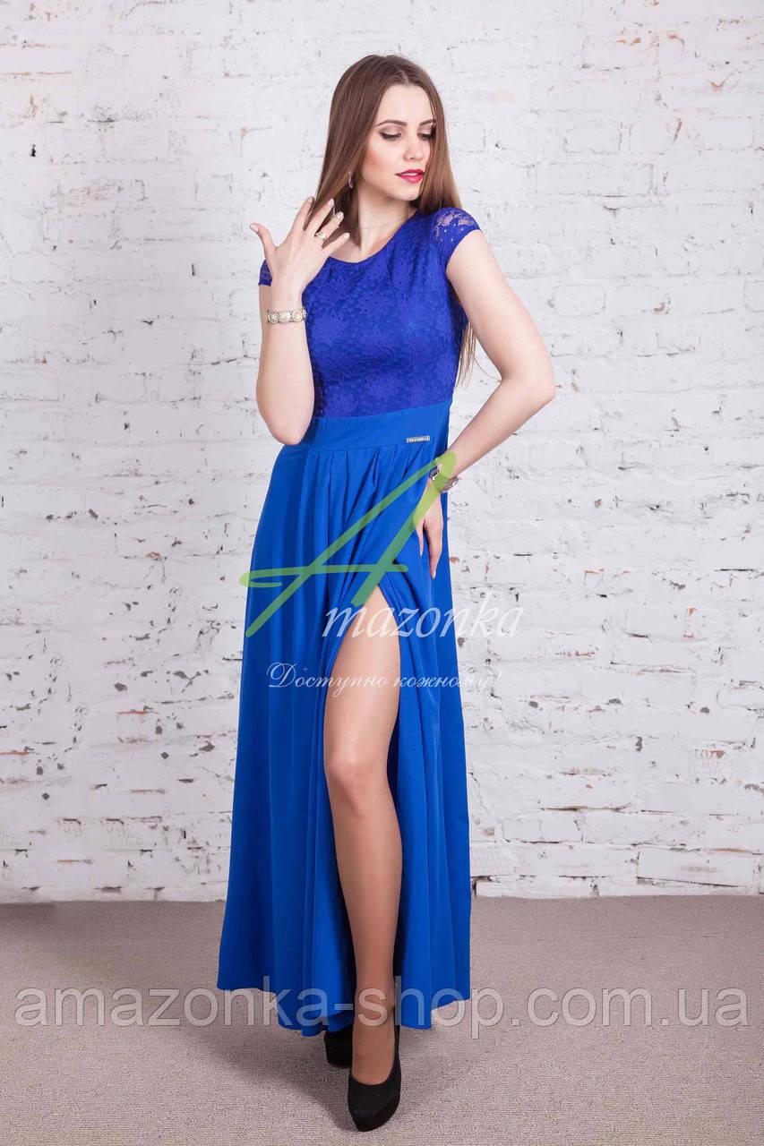 Выпускное платье в пол от производителя AMAZONKA - Код пл-207