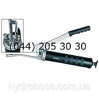 Шприц для ЧАСТОЙ смазки рычажного типа со стальной трубкой 150 мм и соединительной муфтой, 690 Бар