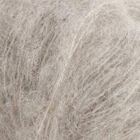 Пряжа Drops Brushed Alpaca Silk Uni Colour 02 Light Grey, 25г