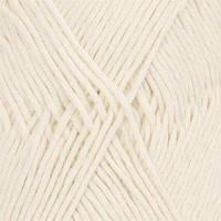 Пряжа Drops Cotton Light Uni Colour 01 Off White, 50г