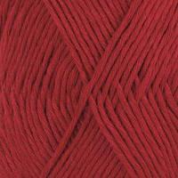 Пряжа Drops Cotton Light Uni Colour 17 Dark Red, 50г