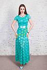 Выпускное нарядное платье в пол от производителя - Код пл-214, фото 2