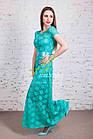 Выпускное нарядное платье в пол от производителя - Код пл-214, фото 3