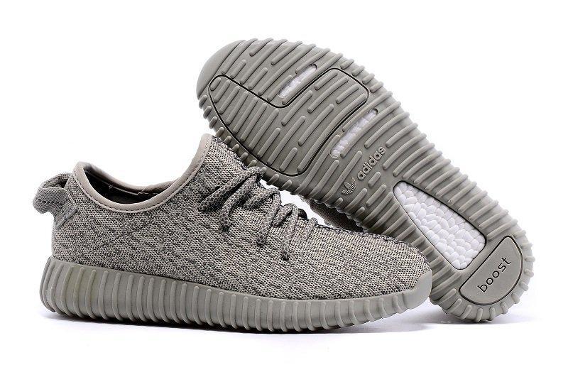 8dc67906 Кроссовки мужские Adidas Yeezy Boost 350 (в стиле адидас) серые -  Мультибрендовый интернет-