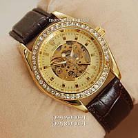 Часы Rolex Women Diamonds Gold/Gold
