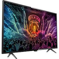 Philips 55PUS6101 / 12, Интеллектуальный светодиодный телевизор 139 см, ультра HD 4K
