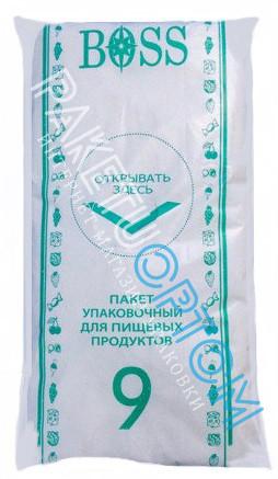 Упаковочные пакеты для пищевых продуктов BOSS № 9 750 штук.