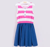Летнее платье для девочки. ТМ Бемби (р.104 - р.140)
